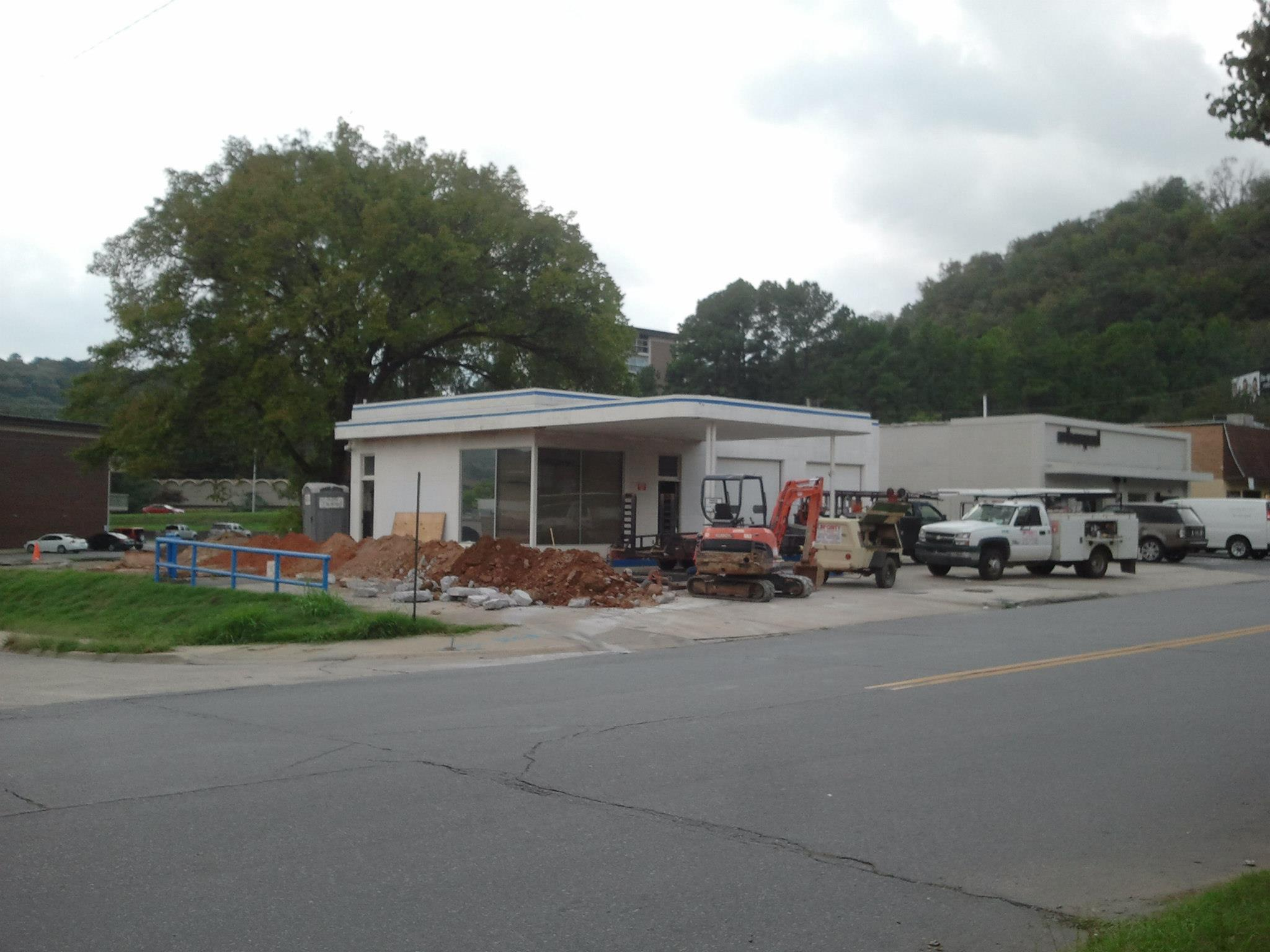 The Fold Building Under Construction